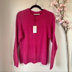 NWT CHIARMENTE ITALY / WOOL BLEND SWEATER